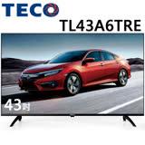 TECO東元 43吋 FHD低藍光液晶顯示器+視訊盒(TL43A6TRE)