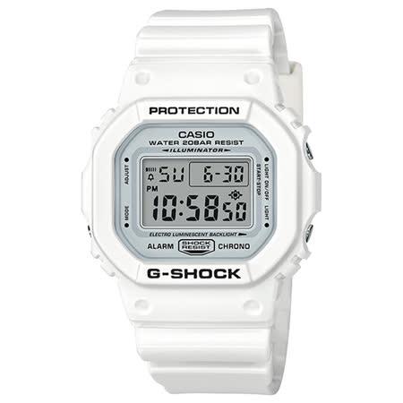 CASIO G-SHOCK  白色主題人氣運動錶