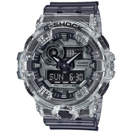 CASIO G-SHOCK  復古半透明金屬錶