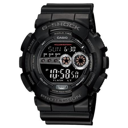 CASIO G-SHOCK  數位大錶徑耐衝擊錶