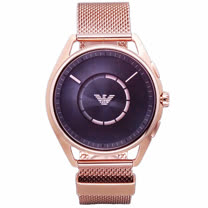 ARMANI 義大利精品的創舉智能手錶-玫瑰金米蘭-ART9005