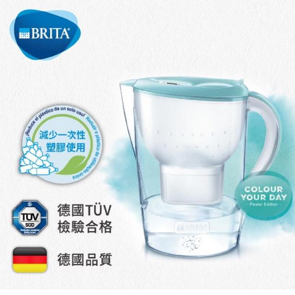 【BRITA】馬利拉濾水壺3.5L(海島藍) XL