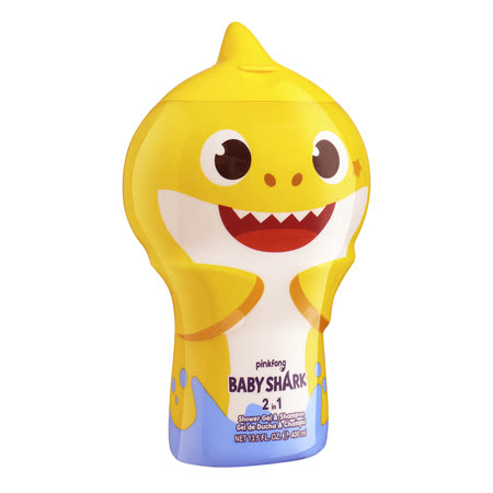 Baby Shark 鯊魚寶寶 2合1沐浴洗髮精400ml