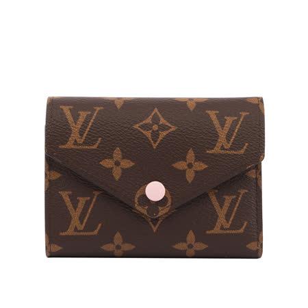 Louis Vuitton Monogram三折短夾