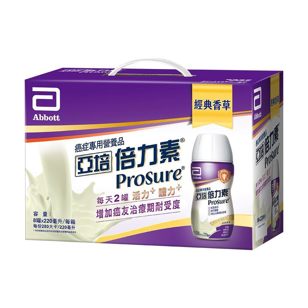 亞培 倍力素癌症專用即飲禮盒(220ml x8入)x2盒