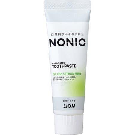 LION獅王 NONIO牙膏