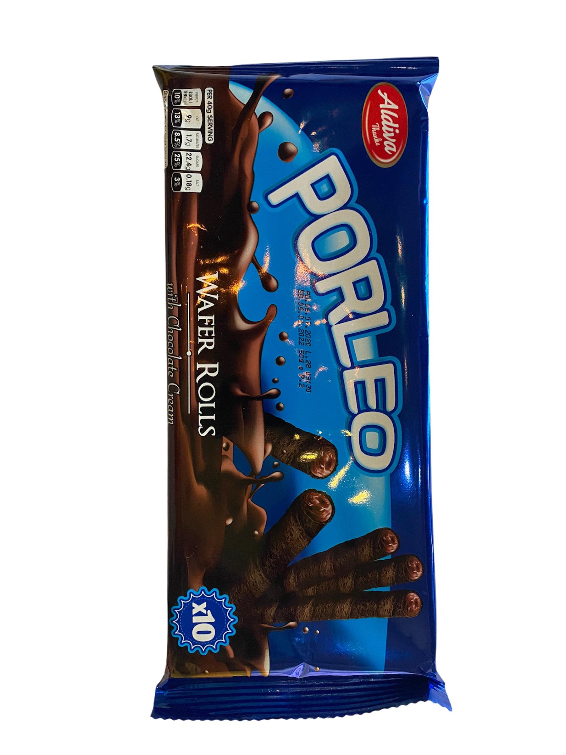 【Aldiva Fiarino】巧克力風味威化蛋捲50g