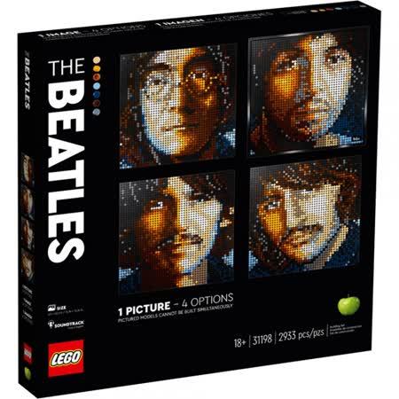 LEGO樂高 經典樂隊-披頭四