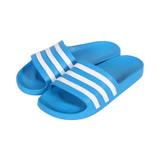 ADIDAS 男 ADILETTE AQUA 防水拖鞋 水藍 - FY8047