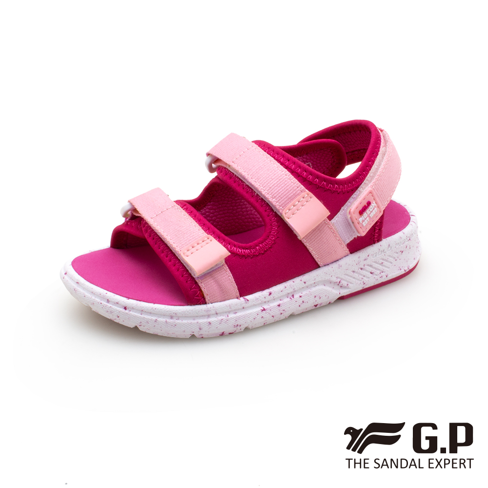 【G.P 兒童簡約綿綿鞋】G0722B-粉色(SIZE:28-32 共二色)