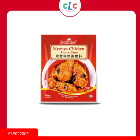 馬來西亞 DELICHEF Nyonya Chicken Curry Paste 咖哩雞醬料 200g