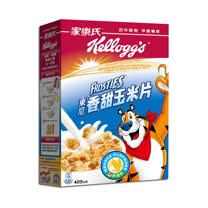 (任選)Kellogg's 家樂氏 香甜玉米片 400g