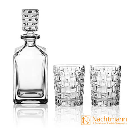 Nachtmann 巴莎諾瓦 威士忌壺+威士忌兩杯
