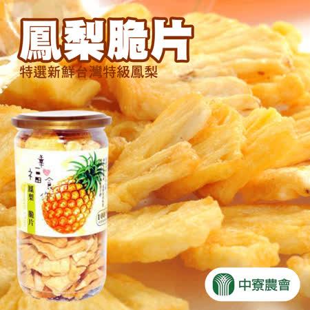 【中寮農會】 鳳梨脆片-110g-罐 (2罐)