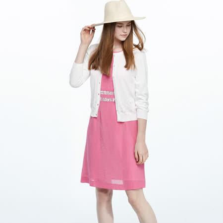 AZUR 質感蕾絲面料造型洋裝