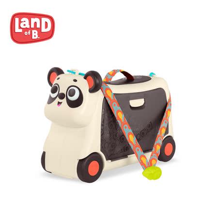 B.Toy  Land of B 熊貓滑步行李箱