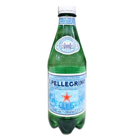 【聖沛黎洛】氣泡礦泉水 500ML (PET)*24入