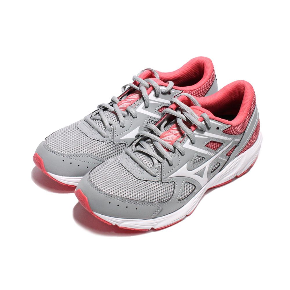 MIZUNO 女 MIZUNO SPARK 6 慢跑鞋 灰粉 - K1GA210401