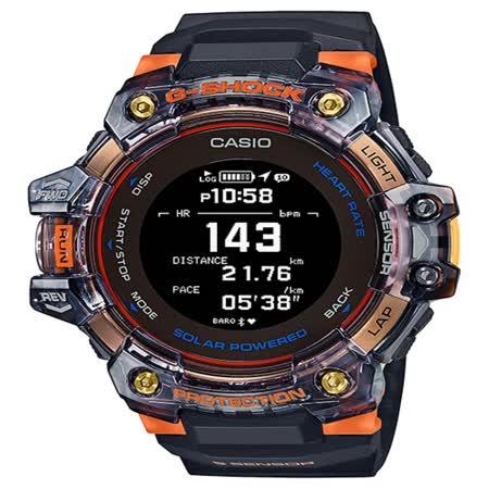 CASIO 心率偵測 x GPS衛星定位 藍芽多功能腕錶