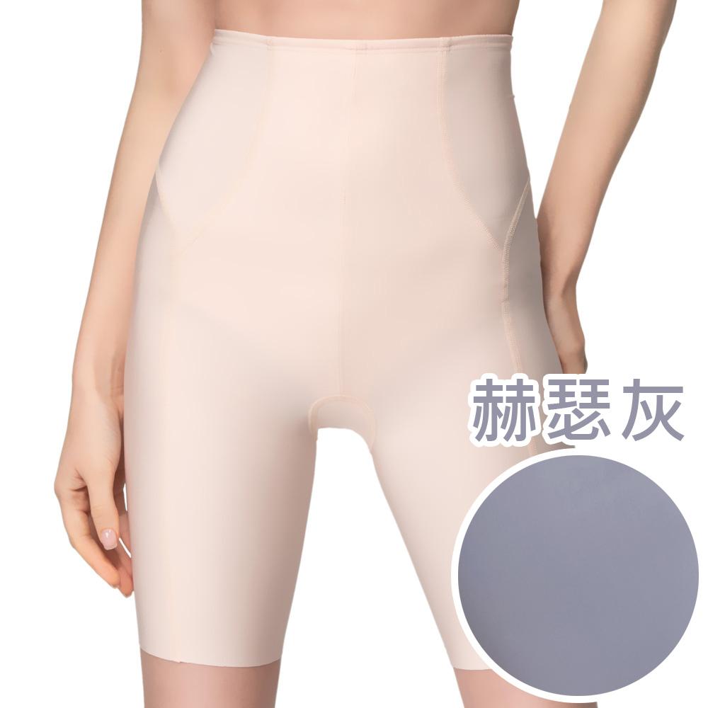 【思薇爾】輕塑型系列64-82高腰長筒束褲(赫瑟灰)