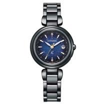 CITIZEN星辰 電波對時星空藍超級鈦限量款腕錶 ES9466-57L