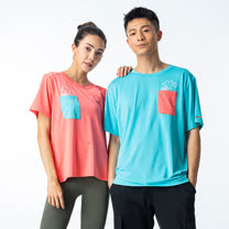 28°心口袋T恤TA201004(商品不含配件) - 百貨專櫃品牌 TOUCH AERO 瑜珈服有氧服韻律服