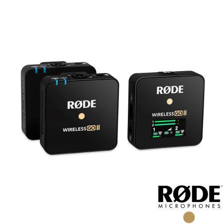 RODE  GO II 二代 小型無線麥克風 1對2