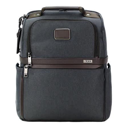 TUMI ALPHA 3系列15吋筆電後背包(碳黑)