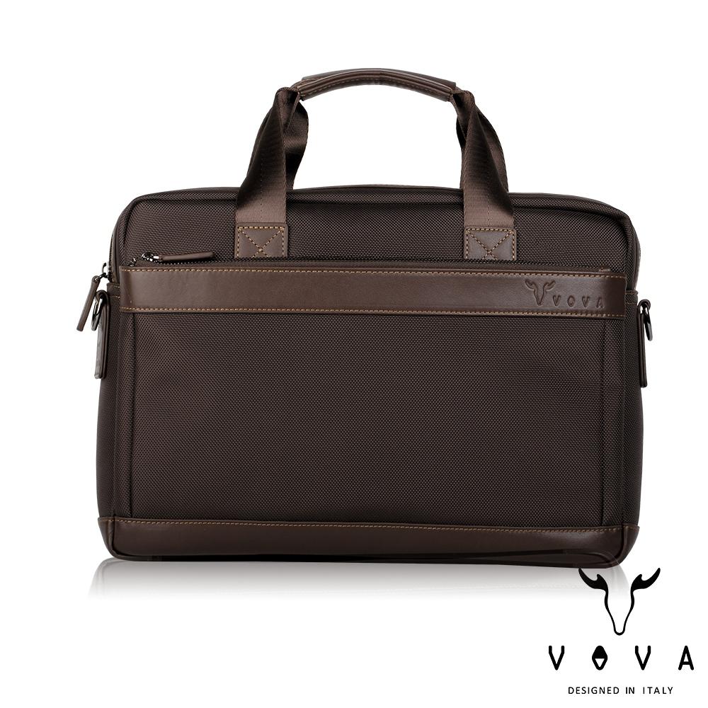 【VOVA沃汎】台灣總代理 羅迪 單層公事包-咖啡色/VA124S02BR