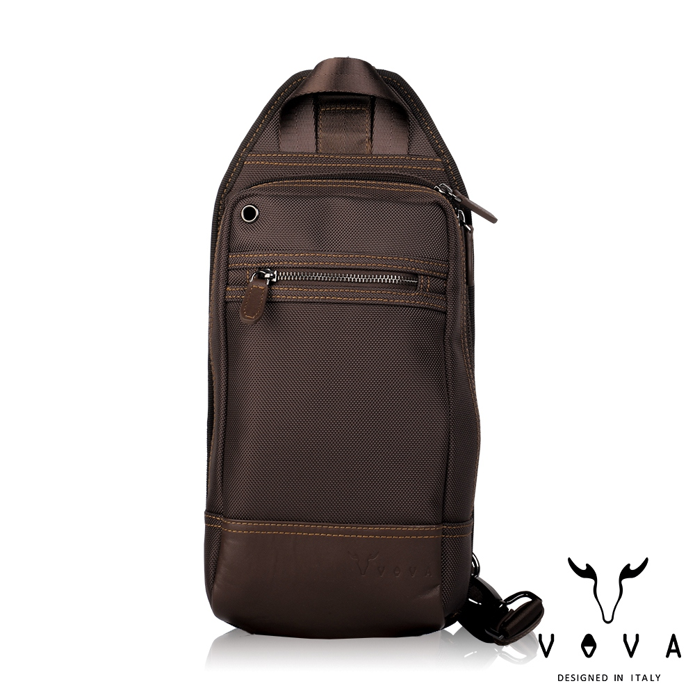 【VOVA沃汎】台灣總代理 羅迪 胸包-咖啡色/VA124S05BR