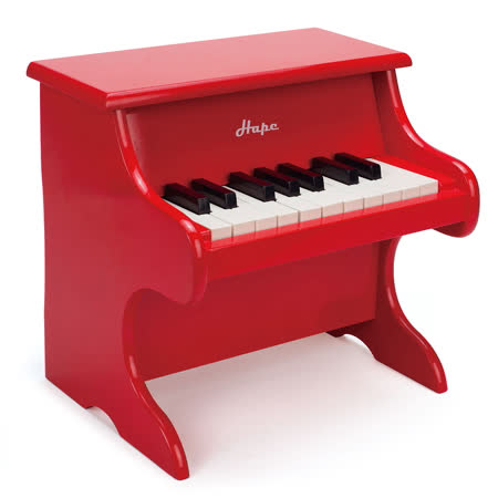 德國Hape 小小音樂家紅色小鋼琴