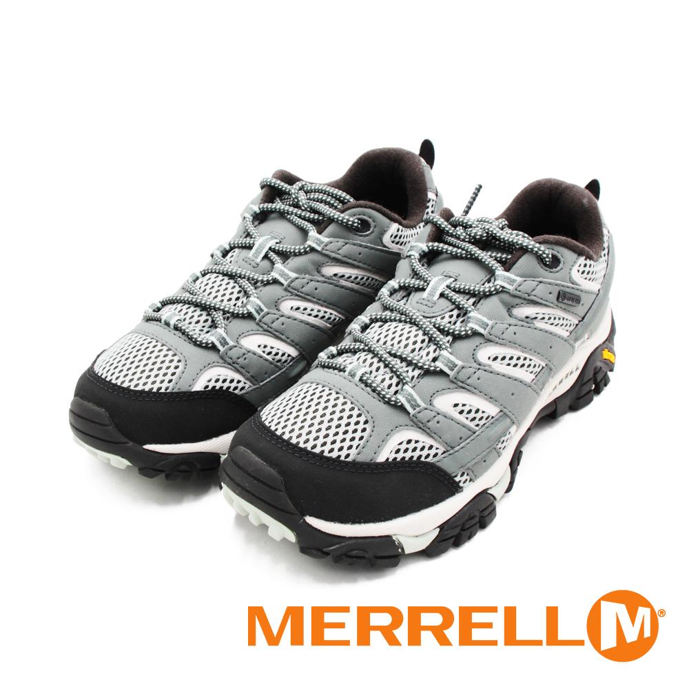 MERRELL(女)MOAB 2 GORE-TEX防水登山運動鞋 女鞋-灰