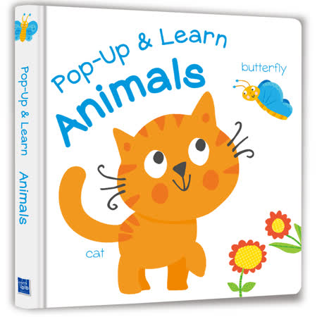 【幼福】【Listen & Learn Series】Pop-Up & Learn Animals(可愛互動立體書:驚奇動物)