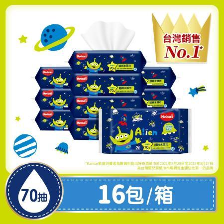 好奇 純水嬰兒濕巾加厚型(70抽x16包/箱)