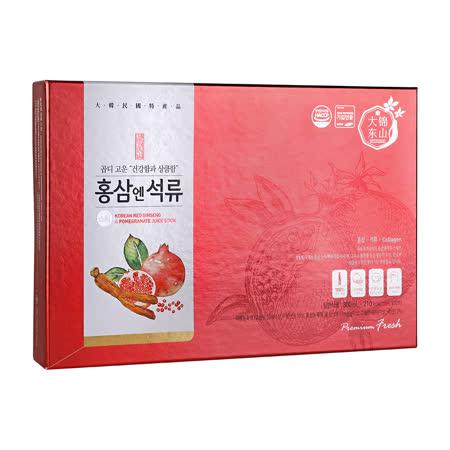 【大東】 紅蔘石榴飲30入/盒