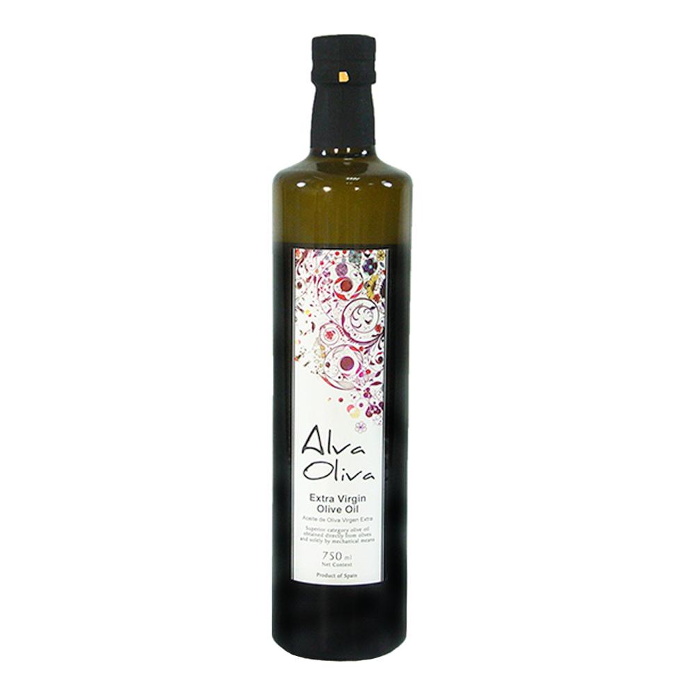 買一送一【ALVA OLIVA】特級冷壓初榨橄欖油 750ML