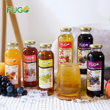 FUGO】 果汁6種綜合(12入)