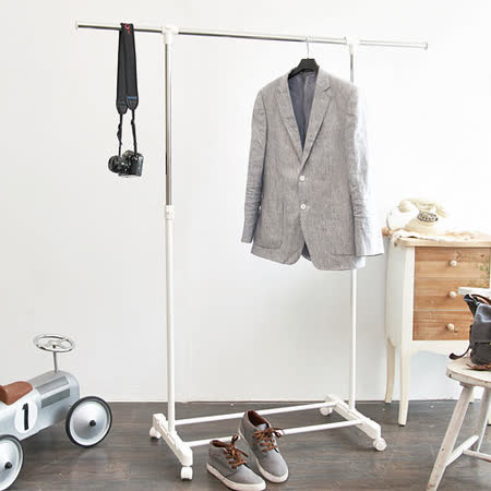 台製時尚 單桿延伸曬衣架