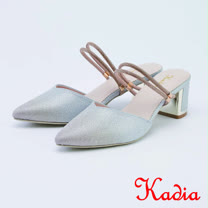 kadia.兩穿時尚優雅高跟鞋(1028-A8金色)