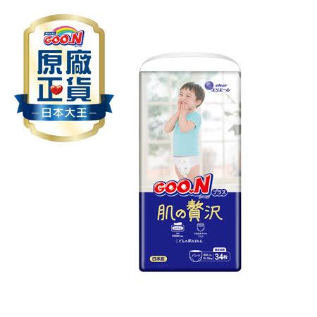 日本大王境內版奢華肌紙尿布(XL/ 34片*3串)