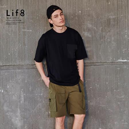 LIFE8 時尚舒適男上衣/短褲