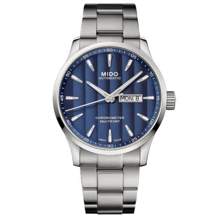 MIDO美度 MULTIFORT 先鋒系列 天文台認證機械腕錶 / M0384311104100 / 42mm