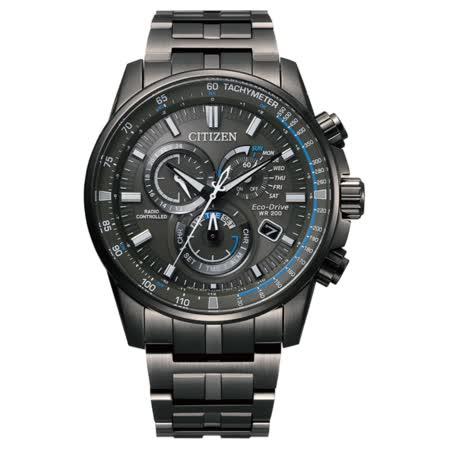CITIZEN星辰  電波對時萬年曆腕錶