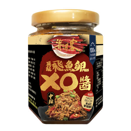 海濤客 頂級飛魚卵XO醬