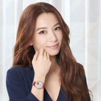 CITIZEN星辰 LADY'S系列 亞洲櫻花限定版機械腕錶 / PC1018-69D / 34mm