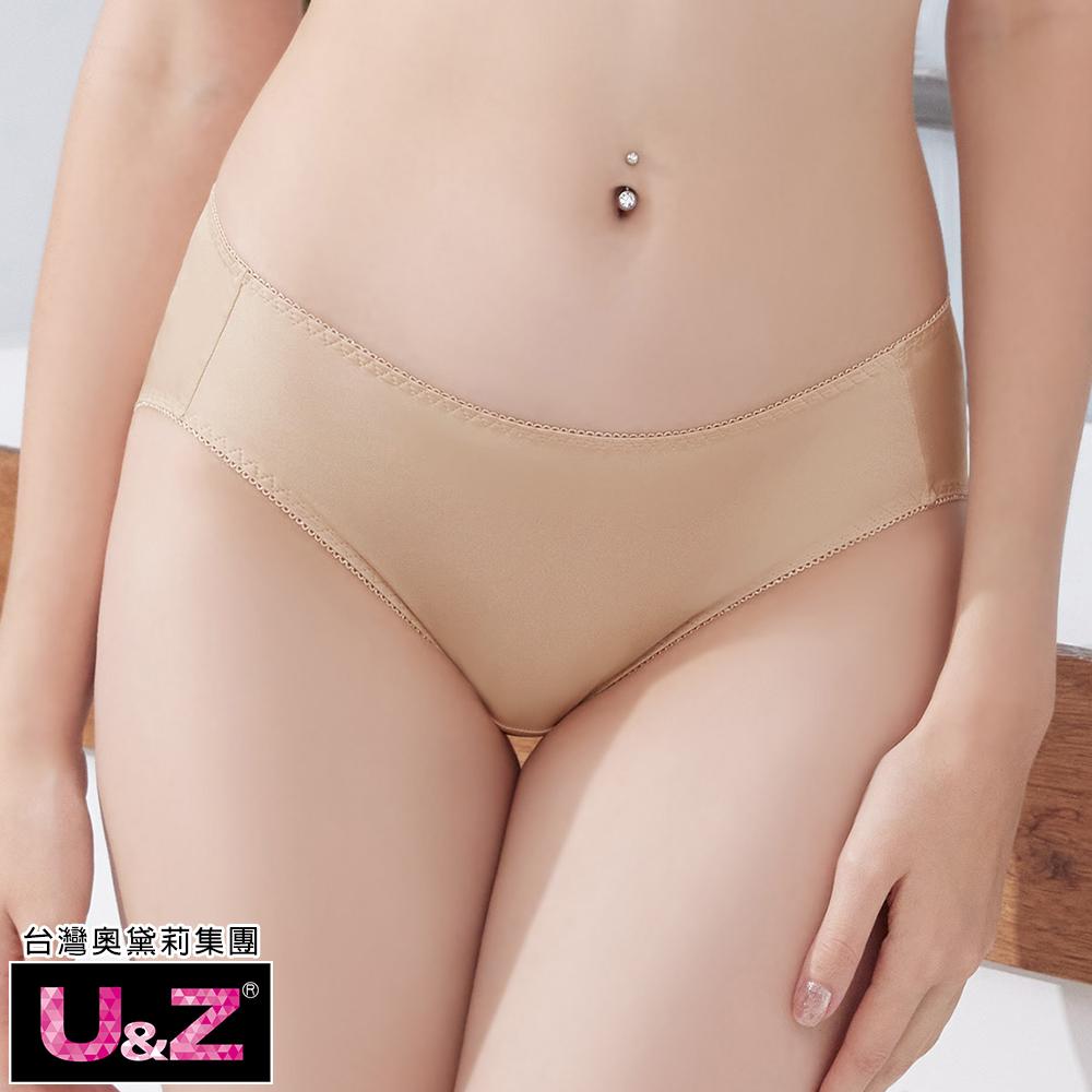 【U&Z】素面相伴 中腰三角褲(零感膚)