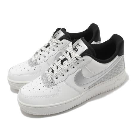 Nike 女 簡約白銀 Air Force 1 07