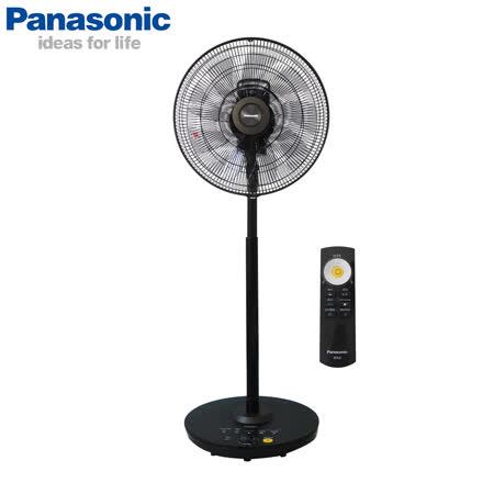 Panasonic 14吋DC變頻 nanoeX極淨型溫感立扇