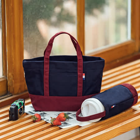 Kiiwi O!  帆布包+飲料袋