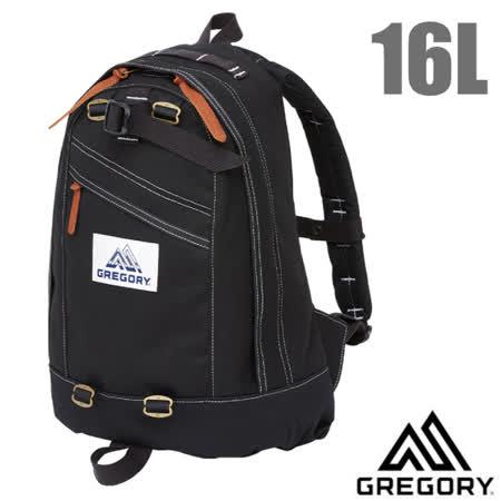 美國 GREGORY 日用 雙肩休閒後背包16L-黑
